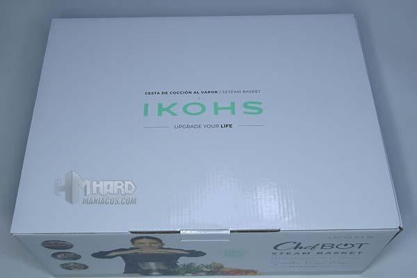tapa caja cestos vapor Ikohs
