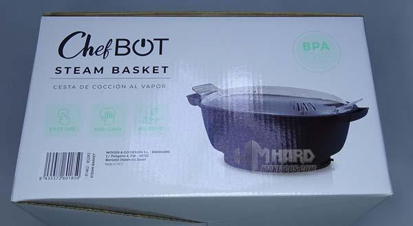 lateral caja cestos vapor robot cocina ikohs