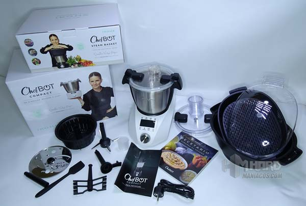 unboxing completo robot cocina iKohs ChefBot Compact SteamPro