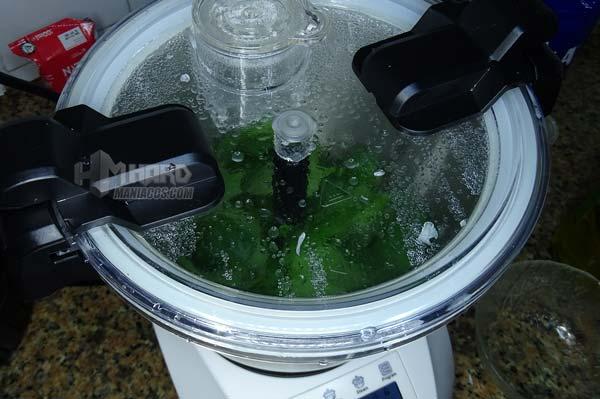 espinacas robot cocina chefbot compact
