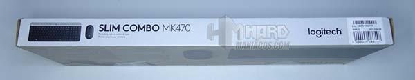 lateral largo caja combo logitech mk470