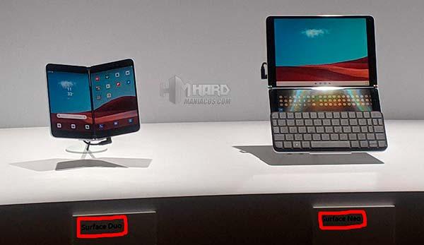 Microsoft Surface Neo y Duo Portada