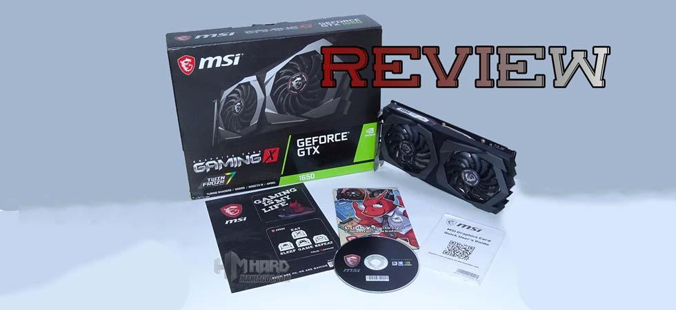 tarjeta grafica GTX 1650 Gaming X 4G