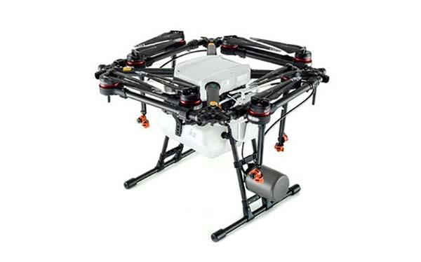 dron AGRAS plegable