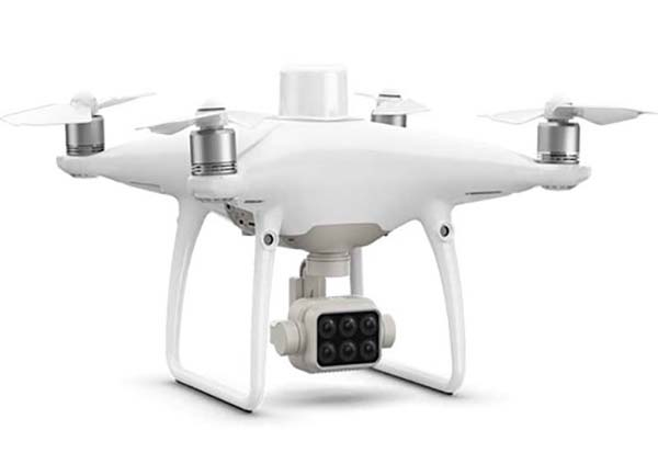 dron DJI phantom P4 Multispectral