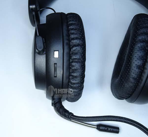botones en auriculares MH4X