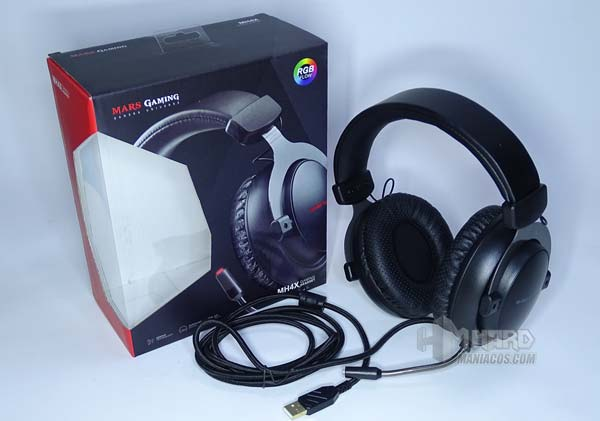 unboxing auriculares Mars Gaming MH4X