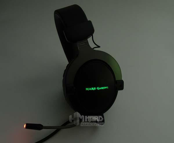 auriculares mars gaming MH4X iluminacion
