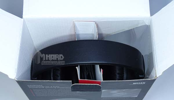 unboxing caja auriculares MH4X