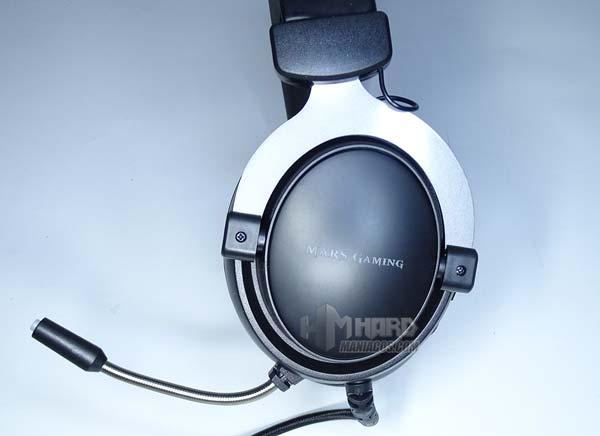 orejera izquierda auriculares Mars Gaming MH4X