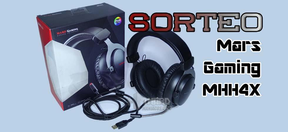sorteo auriculares mars gaming MH4X portada