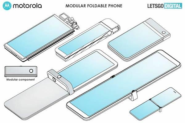 patente motorola Razr modular