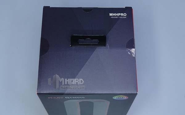 parte superior caja mars gaming soporte mhhpro