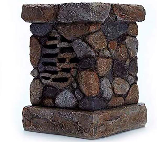 altavoz solar bloque piedra WENLONG
