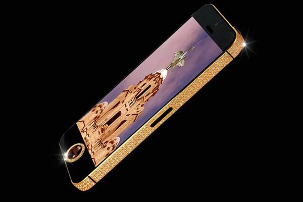 2. iPhone 5 Black Diamond, iPhone mas caro