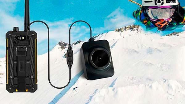 movil raro Nomu T18 movil walkie-talkie