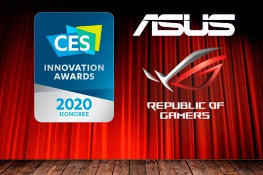 Asus en CES 2020 portada