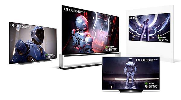 monitores TV LG CES 2020