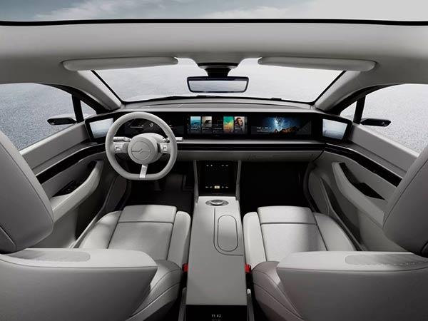 Vision S interior