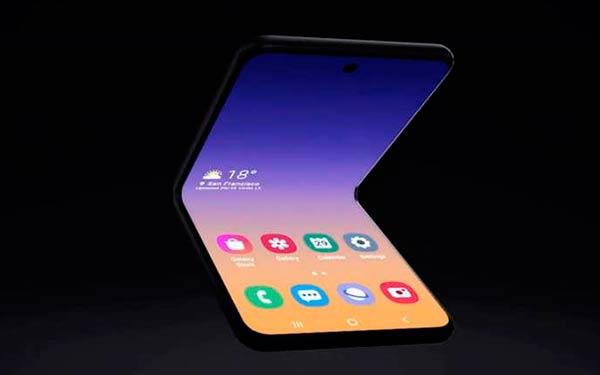 Galaxy Z Flip CES 2020