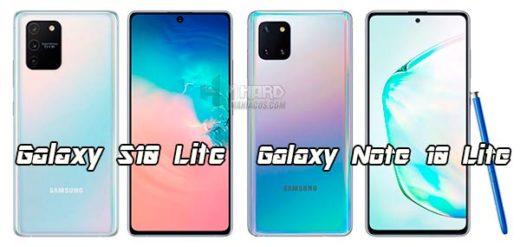 Galaxy S10 Lite y Galaxy Note 10 Lite portada