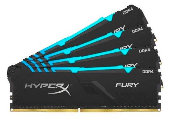 Memorias HyperX FURY DDR4