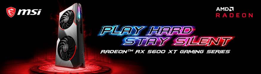 gráficas GAMING y MECH RADEON RX 5600 XT