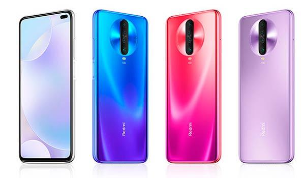Xiaomi Redmi K30 colores