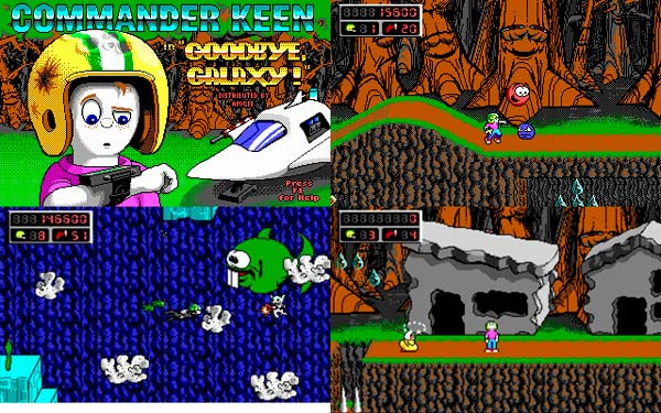 juegos de id Software, Commander Keen 4 Secret of the Oracle