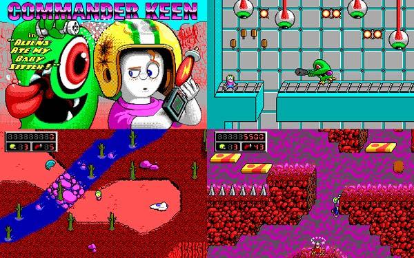 juegos de id Software, Commander Keen 6 Aliens Ate My Babysitter