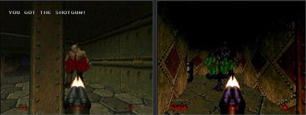 Doom64 Jap vs Worldwide