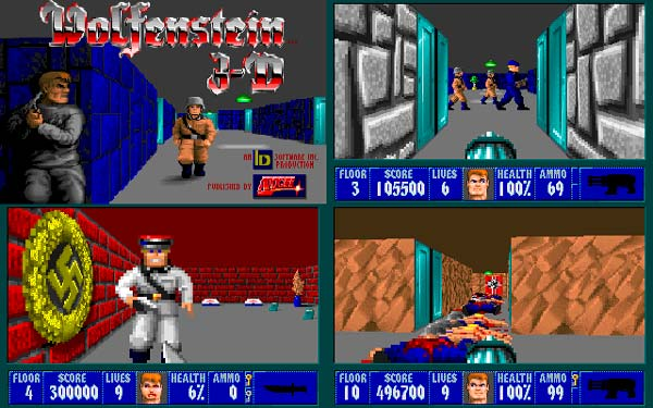 juegos de id Software, Wolfenstein 3D