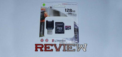 Tarjeta Kingston microSD Canvas React Plus Kit