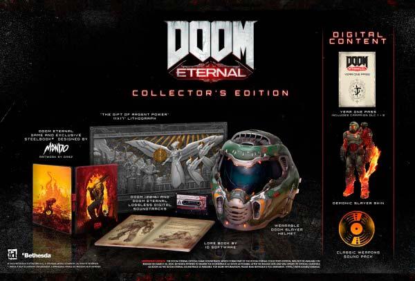 edicion coleccionista Doom Eternal