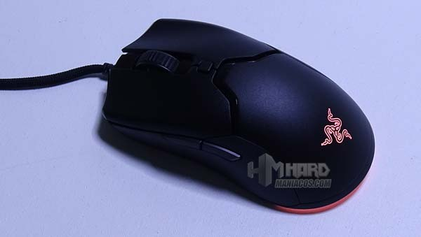 Razer Viper Mini iluminacion naranja