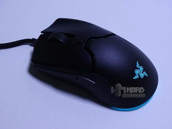 Razer Viper Mini iluminado azul