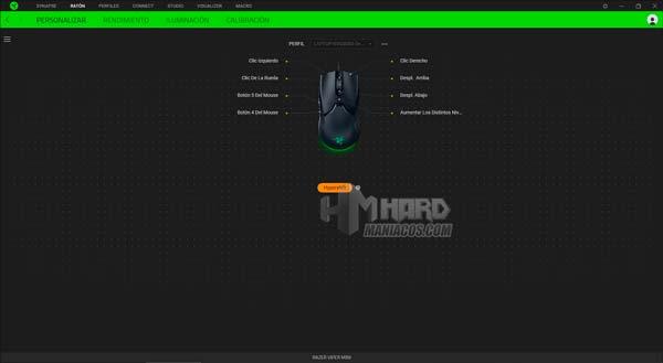 Razer Synapse Hypershift Razer Viper Mini