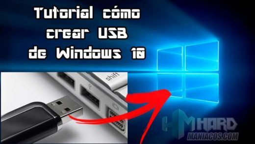 crear USB de Windows 10