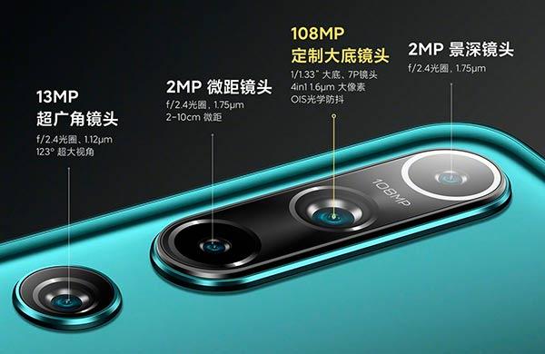 Xiaomi MI 10 camara 108MP