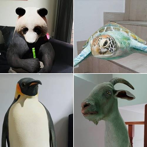 animales 3D de Google en casa