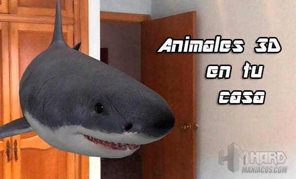 animales 3D de Google Portada