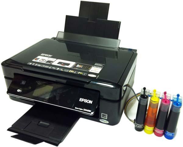 impresora con tinta continua