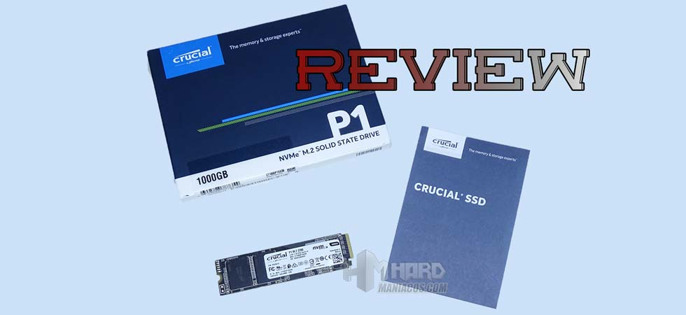 Crucial SSD NVMe P1