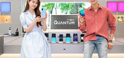 Samsung Galaxy A Quantum Portada