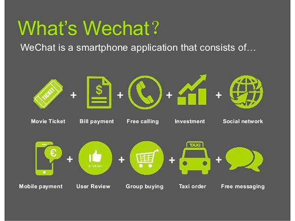 servicios WeChat