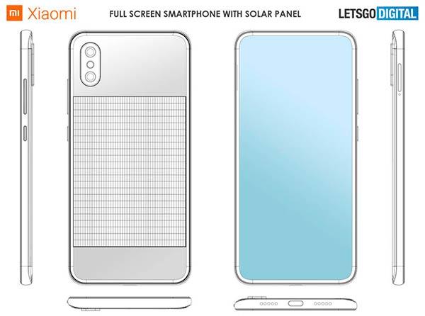 movil panel solar Xiaomi