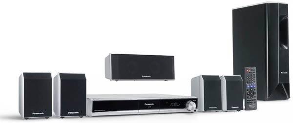 Home cinema Panasonic SC PT460EG S