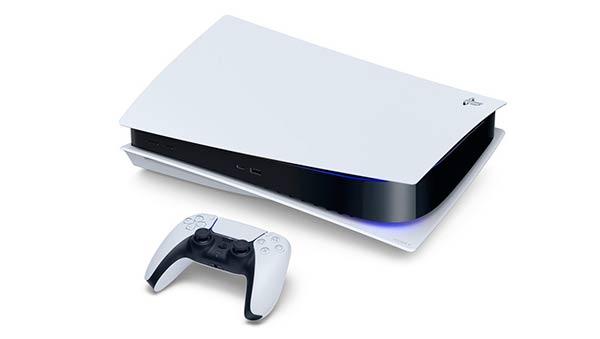 PlayStation 5 en horizontal