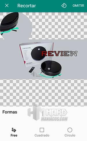 Sticker Studio recorte libre