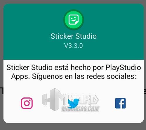 Sticker Studio info
